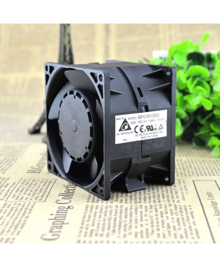 DELTA GFC0812DS DC 12V 1.80A cooling fan