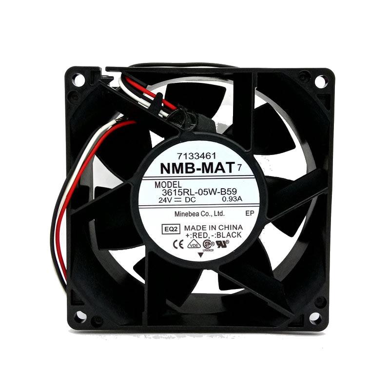 NMB-MAT 3615RL-05W-B59 24V 0.32A cooling fan