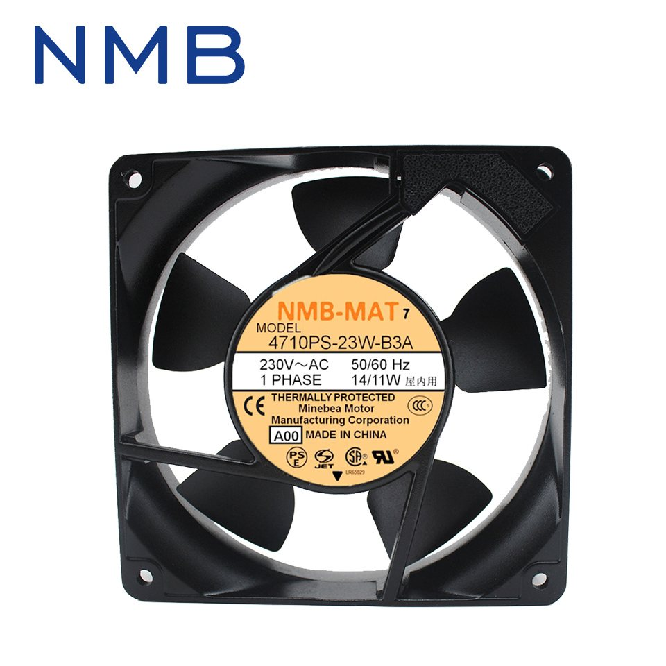 NMB 4710PS-23W-B30 230V UPS power supply cooling axial fan