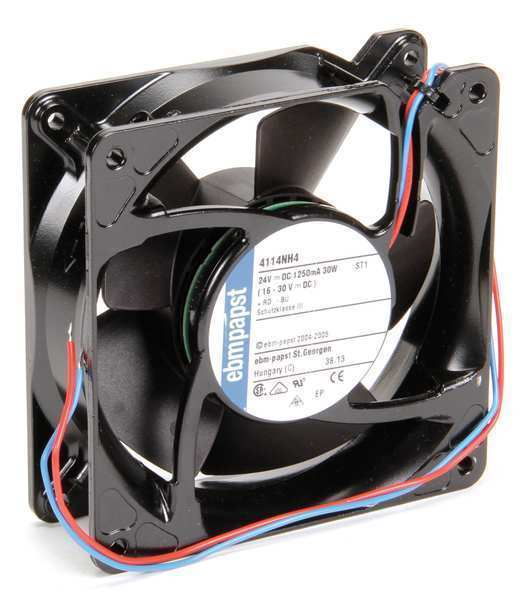 Ebm-Papst 4114NH4 24VDC 4-2/3″ Square Axial Fan