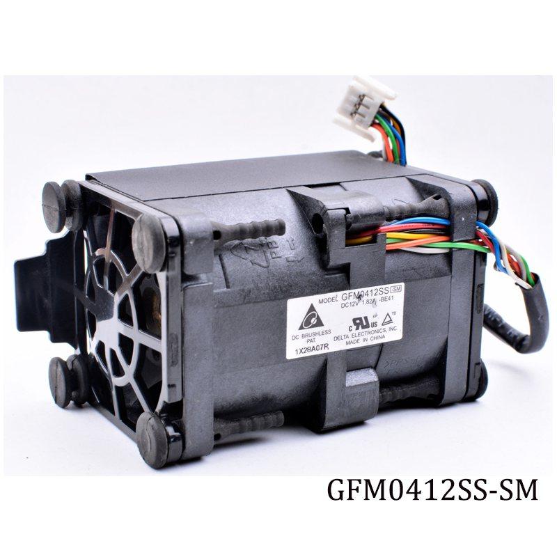 Delta GFM0412SS-SM 12V 1.82A HP DL360P/E Gen8 cooling fan 654752-001/667882-001