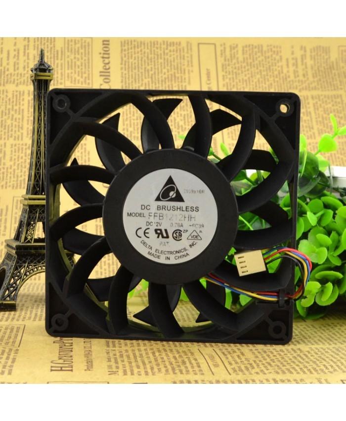 DELTA FFB1212HH 12CM 12V 0.78A cooling fan