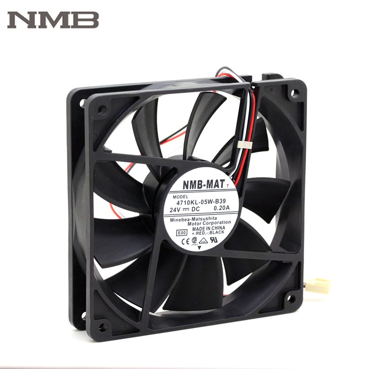 NMB 4710KL-05W-B39 119*25MM 24V 3 wire alarm signal cooler fan