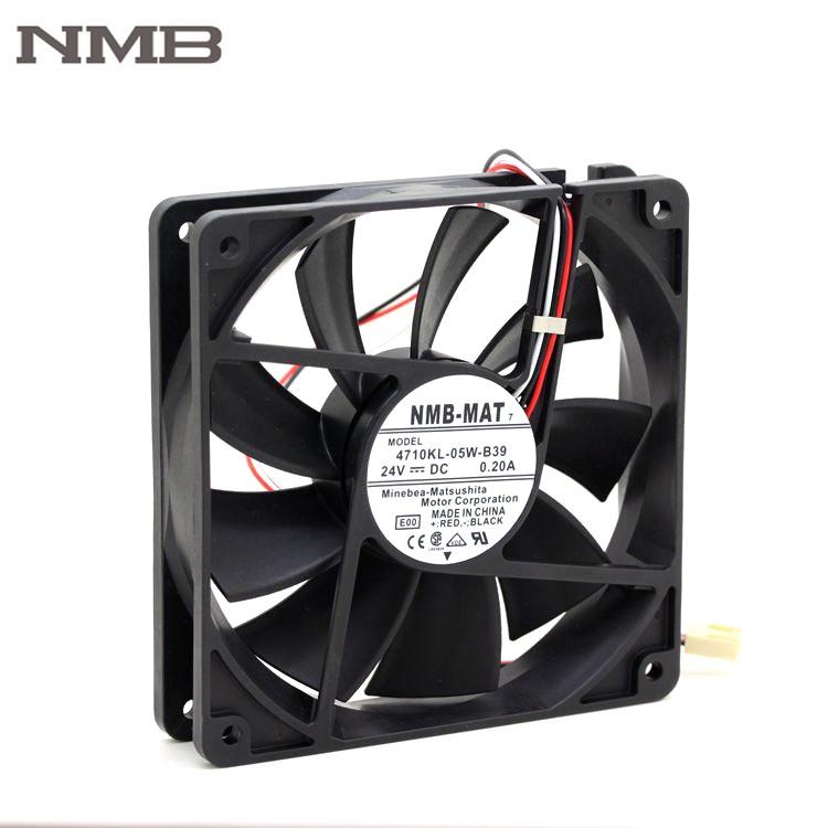 NMB 4710KL-05W-B39 119*25MM 24V 3 wire alarm signal cooler fan