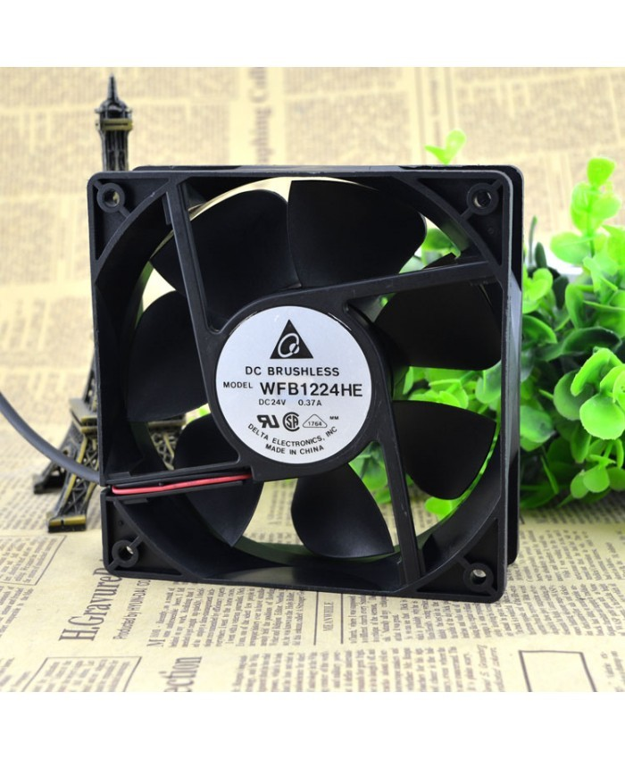 DELTA WFB1224HE 12CM  24V 0.37A cooling fan