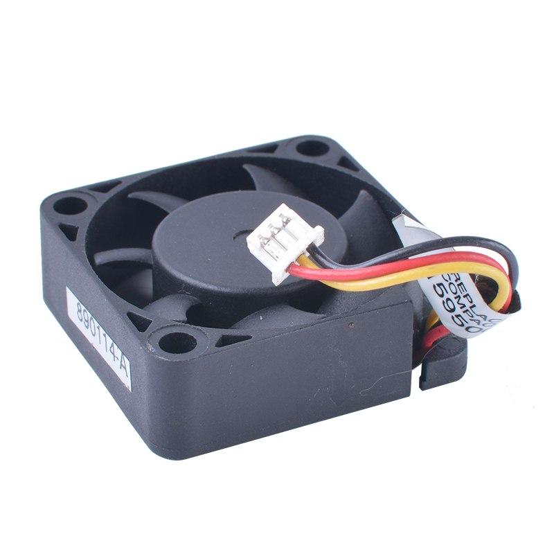 Y.S.TECH FD0530107B-2A 3cm 30mm fan 5V 0.50W Double ball bearing micro cooling device fan