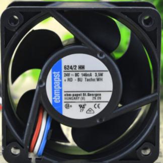 Ebmpapst 624/2 HH 24V 3.5W Cooling fan
