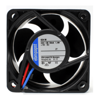 Ebmpapst 624M 24V 1.4W  6CM Cooling fan