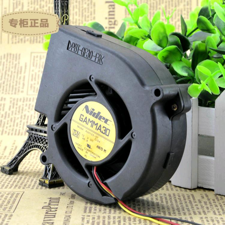 Nidec A34123-57 12V DC 0.46A cooling fan