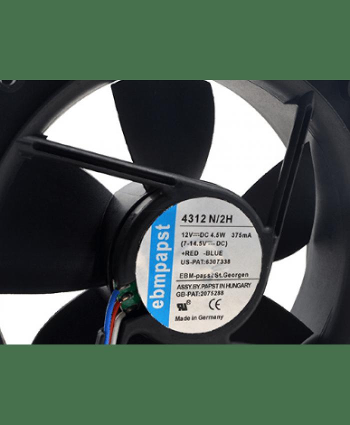 Ebmpapst TYP 4312 N/2H 12V 4.5W 12CM cooling fan