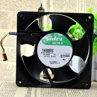 Nidec A34362-87 48V 127x127x38mm high temperature cooling fan