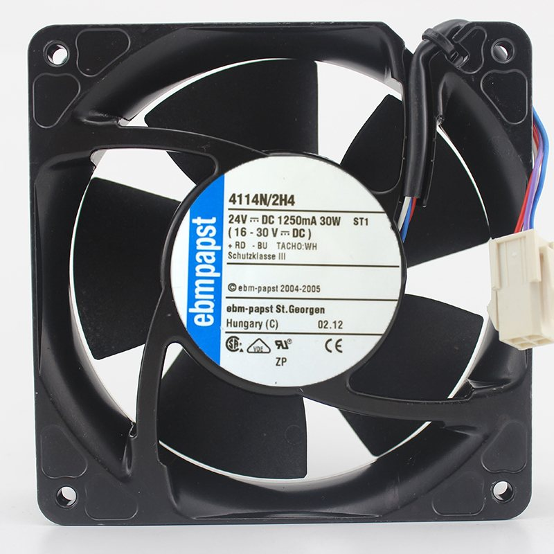 Ebmpapst 4114N/2H4 24V 30W Axial cooling Fan