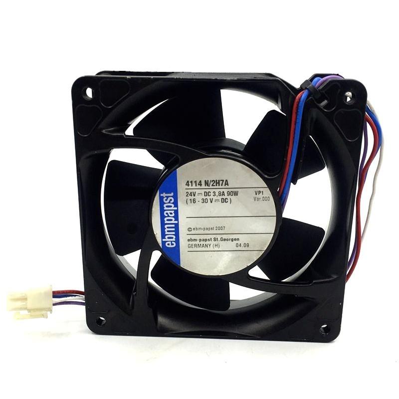 Ebmpapst 4114N/2H7A 24V 3.8A 90W cooling fan
