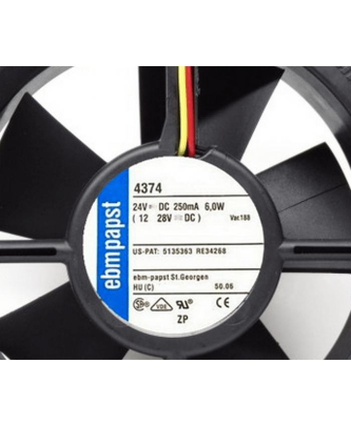 ebmpapst TYP 4374  24V cooling fan