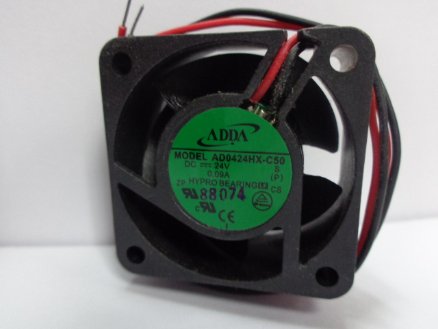 ADDA AD0424HX-C50 DC24V 0.09A inverter cooling fan