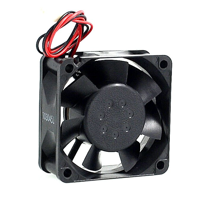 NMB 2410ML-04W-B40  6CM 12V 0.22A two-wire double ball bearing fan