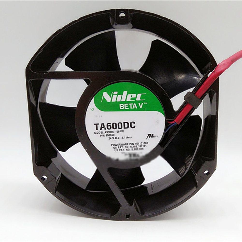 Nidec TA600DC A34438-59 EX DC24V 1.4mp UPS 2pin  cooling fan