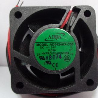 ADDA AD0424HX-C50 DC24V 0.09A inverter cooling fan