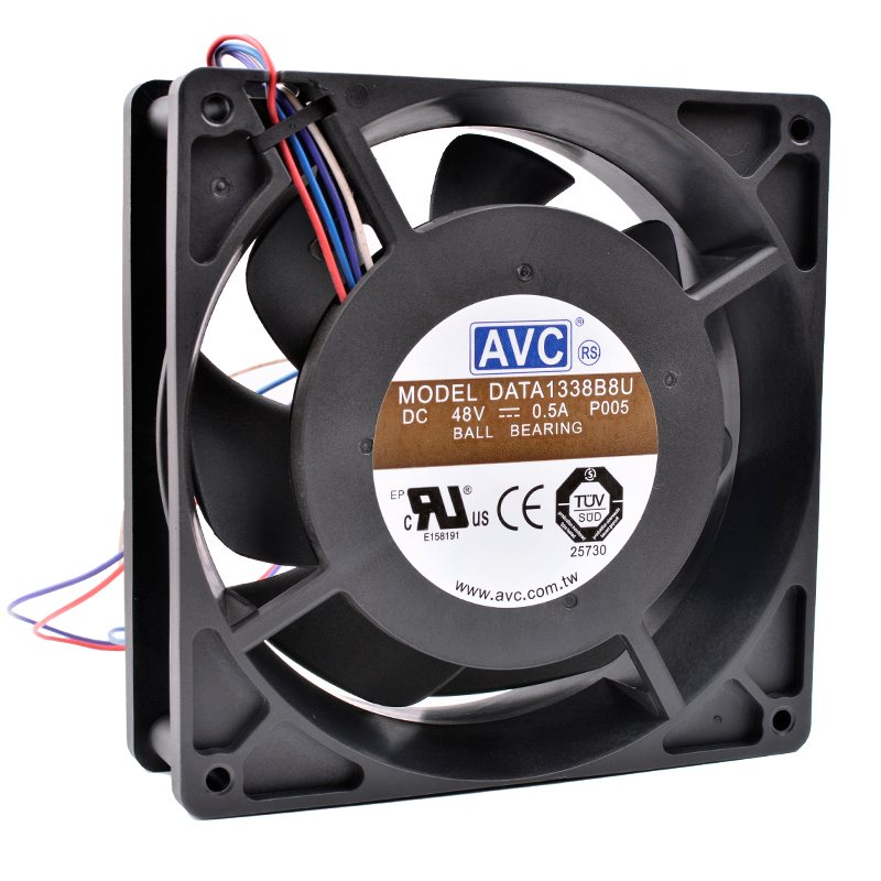 AVC DATA1338B8U DC 48V 0.50A  high-end server cooling fan