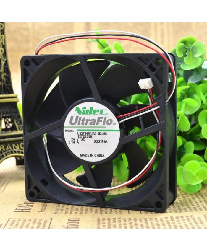 NIDEC U92T24MUA7-53J56 24V 0.14A 9CM cooling Fan