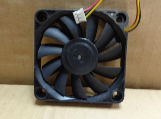 Nidec D06X-12TH DC12V 0.19A 6CM 60*60*10 3 Lines Double Ball Bearing High Rotary Cooling Fan
