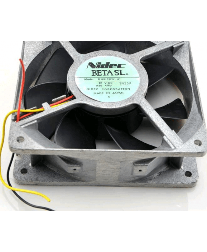 NIDEC D12E-48PS1 12V 0.60A MP cooling fan