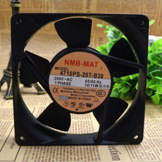 NMB 4710PS-20T-B30 120*120*25MM 200V 14/11W fan