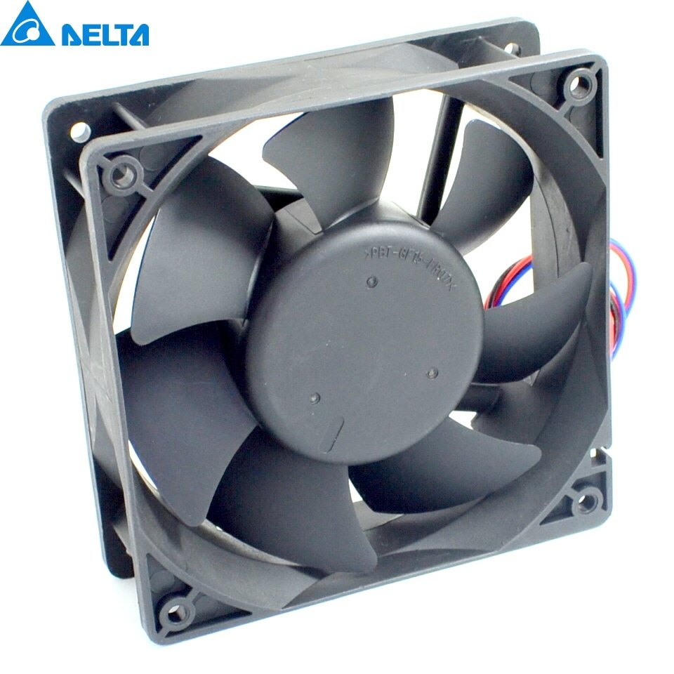 Delta AFB1212VHE -F00 DC12V 0.90A 3wire inverter axial blower cooling fan