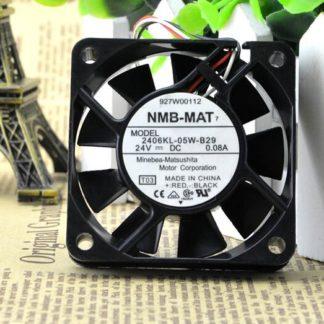 NMB 2406KL-05W-B29 24V 0.08A 3 wire converter cooling fan