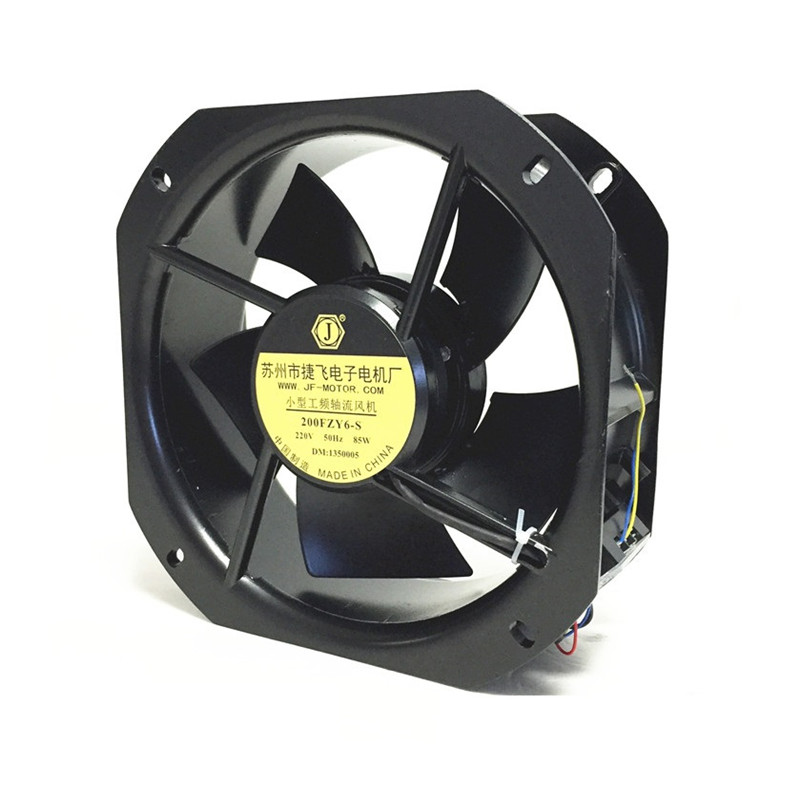 200FZY6-S  220V 80W 0.35A Industrial Frequency Cabinet Cooling High Temperature Resistance Axial Fan