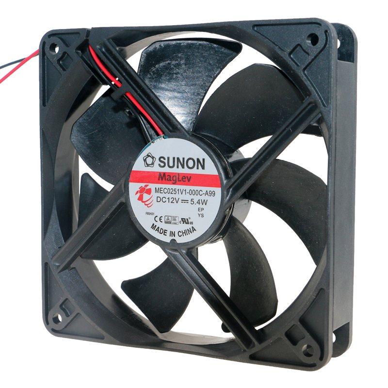 SUNON MEC0251V1-000C-A99 DC12V 5.4W Double ball bearing cooling fan