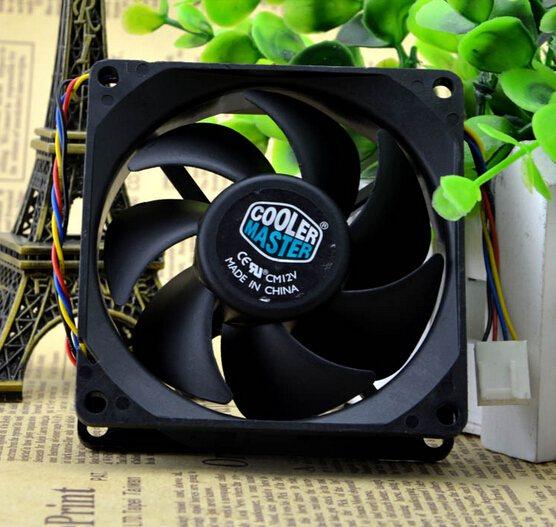 Delta AUB0812HH DC12V 0.32A hydraulic bearing cooling fan