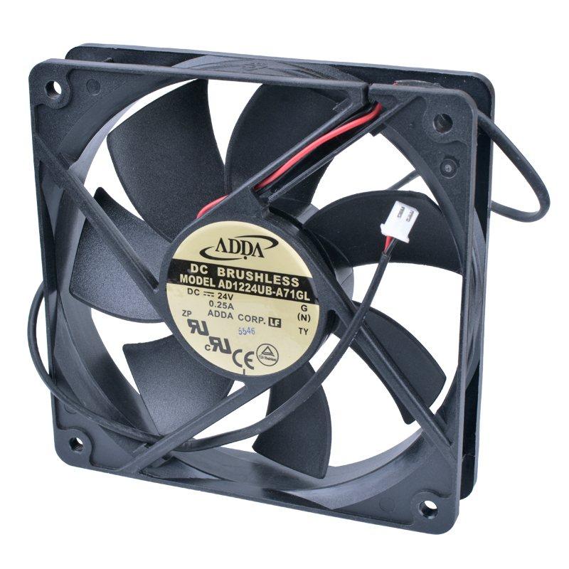 ADDA AD1224UB-A71GL 24V 0.25A Double ball bearing inverter cooling fan