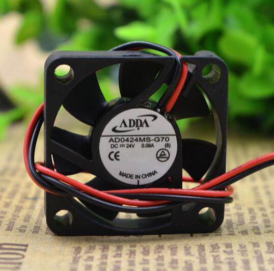 ADDA AD0424MS-G70 4CM 40*40*10 24V 2line printer inverter cooling fan