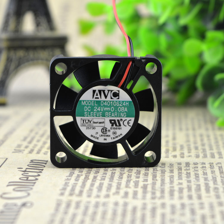 AVC D4010S24H 24V 0.08A 4CM power supply cooling fan