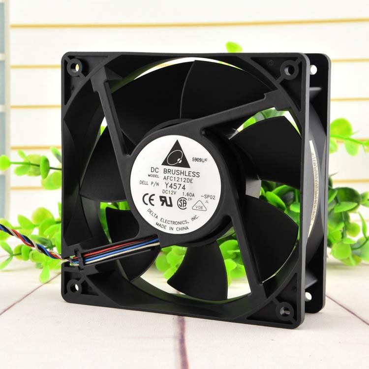 Delta AFC1212DE  12cm 12V 1.6A pwm cooling fan