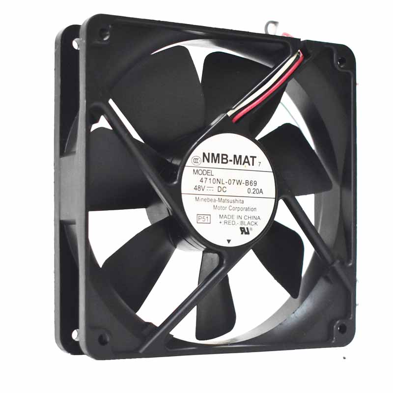 NMB 4710NL-07W-B69 48V 0.2A server inverter cooling fan