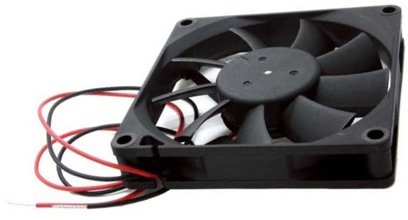 Delta AFB0812HB DC12V 2wire 0.20A  Ball Bearing Fan