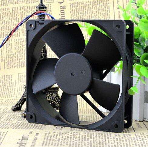 ADDA AD1248HB-Y56 40V 0.13A 12CM three line dual ball cooling fan