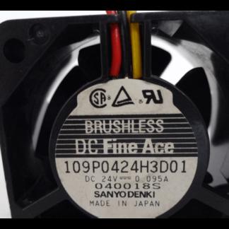 Sanyo 109P0424H3D01 24V cooling fan