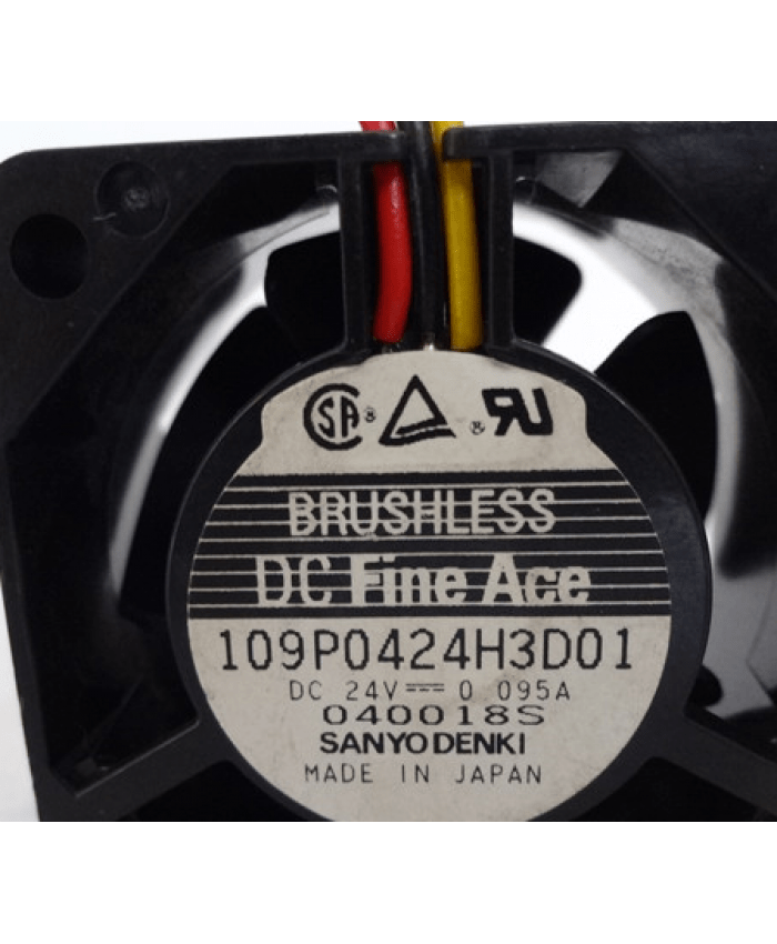 Sanyo 109P0424H3D01 24V cooling fan