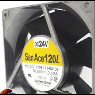 SANYO 109E1224M103 120*120*38MM 24V 0.12A fan