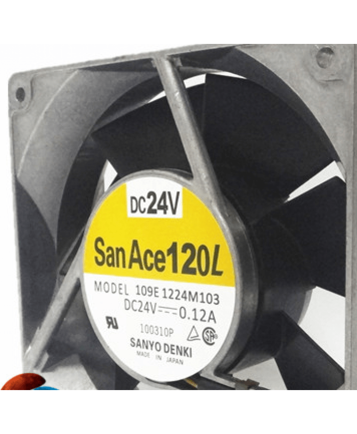 SANYO 109E1224M103 120*120*38MM 24V 0.12A fan