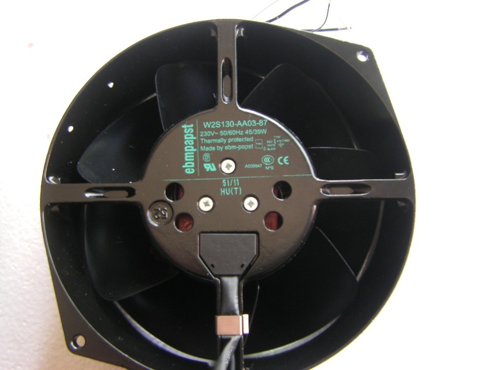 ebmpapst W2S130-AA03-87 230V induction high temperature resistant fan
