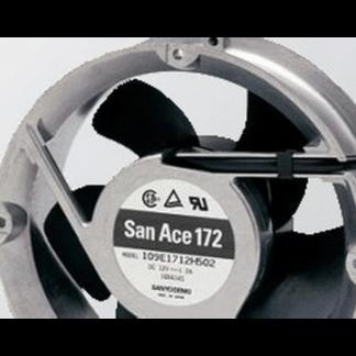 Sanyo 109E1712Y502 12v 1.2A violent cooling fan