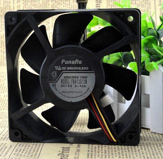 Panaflo FBA12G12M 12V 0.45A converter chassis three line super mute fan