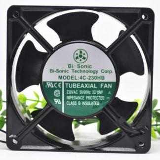 Bi-sonic 4C-230HB  230VAC 19/22W Cooler Fan