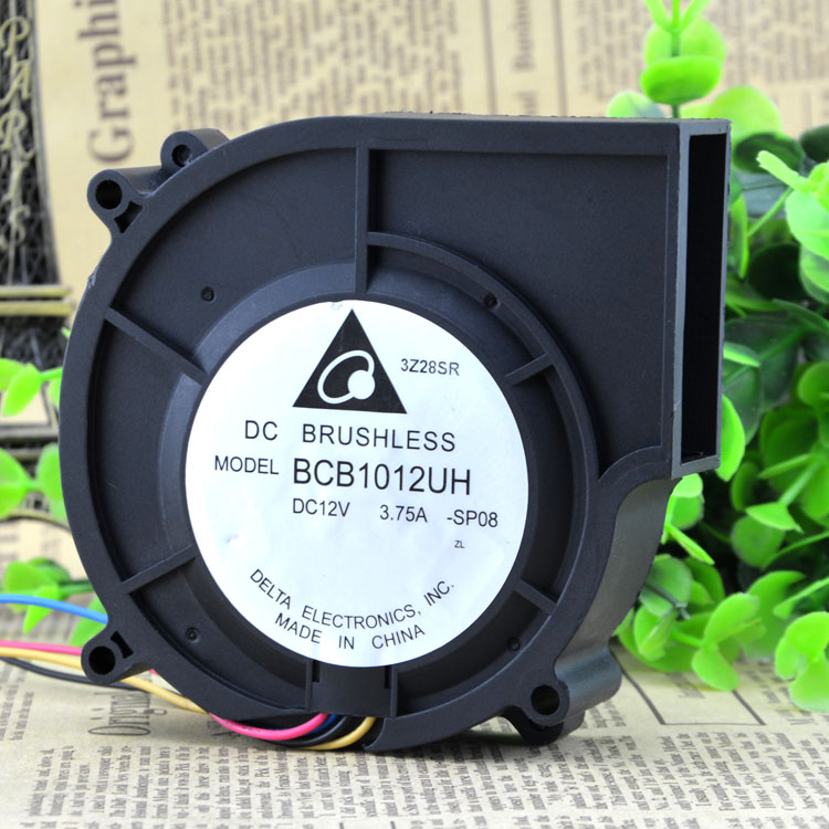 Delta BCB1012UH DC12V 3.75A 97x97x25mm 4-wire Server Blower Fan