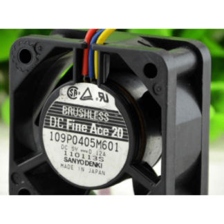 Sanyo 109P0405M601 5V 0.12A 3 lines cooling fan