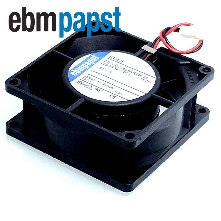 Ebmpapst 8314H DC24V 6.0W inverter double ball bearing fan